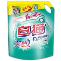 白猫新浓缩洗衣粉1.2kg