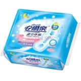 安尔乐 蓝芯体验 棉柔表层 超薄夜用型 卫生巾 275mm*10片
