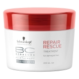 施华蔻专业(Schwarzkopf Professional)保丽修护调理霜200ml(发膜 护发素)