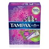 丹碧絲(Tampax)導管式隱形衛生棉條 大流量16支裝(美國進口 幻彩系列 非衛生巾)