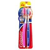 高露洁(Colgate) 超密丝倍洁 牙刷×2 (特惠装) (颜色随机发放)