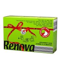 瑞诺瓦之爱( Renova) 香氛手帕纸 双拼薄荷绿/白色 3层9抽*6包 葡萄牙进口