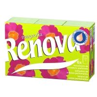 瑞诺瓦之爱( Renova) 香薰手帕纸 玉兰 4层9抽*6包 葡萄牙进口