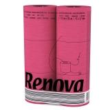 瑞诺瓦之爱( Renova) 檀香卷纸 实用装北极光粉3层140节*6卷 葡萄牙进口