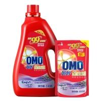 奥妙(OMO)洗衣液 含金纺馨香精华 深层洁净(3kg+800g)