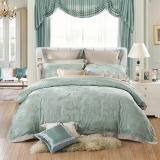 水星家纺 大提花六件套 欧式轻奢床单被罩被套床上用品套件 艾利克斯 双人1.5米床