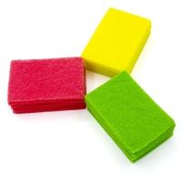 康美雅 厨用多功能百洁布 18片装 防刮洗碗布(量贩装)KYZH-004
