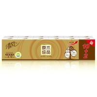 清風(APP)手帕紙 原木純品金裝系列 超韌4層8張*12包 迷你型