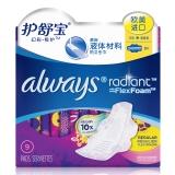 护舒宝(Alway)幻彩·极护卫生巾日用240mm 9片(欧美原装进口 液体材料 清香)