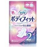 【日本原装进口】尤妮佳(Unicharm)苏菲完美贴合普通日用护翼卫生巾21cm 22片*2包