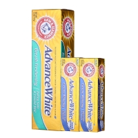 艾禾美(ARMHAMMER)牙膏 清新洁净加量3件套 (清新洁净121g+洁净25g×2)