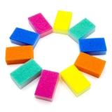 康美雅 彩色洗碗海绵百洁布 10片装 KYKC-005