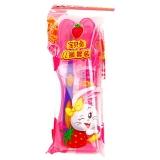 黑人(DARLIE)宝贝兔 儿童套装 (宝贝兔草莓味牙膏40g+精灵宝贝兔牙刷)(牙刷颜色随机发放)