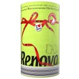 瑞诺瓦之爱(Renova) 专业厨房清洁用纸 绿/白色 2层120节*卷 葡萄牙进口