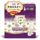 韩国进口苏菲闺艾朗草本夜用卫生巾33cm12片