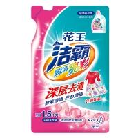 洁霸(ATTACK)瞬清亮彩洗衣液补充装 1.5kg(花王出品、新老包装随机发货)