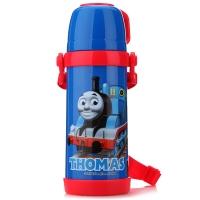 托马斯朋友(THOMASFRIENDS)儿童水杯小孩学生喝水饮水杯保温水壶ST52002深蓝400ML
