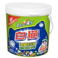 白猫新浓缩洗衣粉(丹麦进口生物酵素)1800g