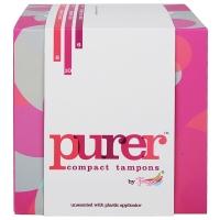 Tmaxx Purer 紧凑型导管式卫生棉条 无香型(8支普通型+10支量大型+6支超大型)24支混合装
