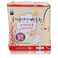 恩芝(Eun jee)純棉日用衛生巾 250mm 16片(韓國原裝進口)