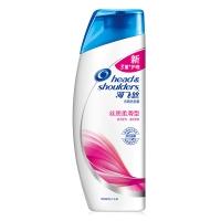 海飞丝去屑护肤洗发水丝质柔滑型200ml(男女通用 洗发露 新老包装随机发放)