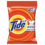汰渍全效360度洁雅百合香型洗衣粉5kg/袋 加酶 无磷 去渍 超浓缩