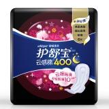 护舒宝(Whisper)超长夜用 甜睡棉柔卫生巾 400mm 6片 (10倍瞬吸)