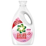 碧浪亮洁柔香型洗衣液3kg/瓶 柔顺 护色 增白