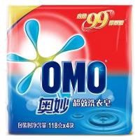 奥妙洗衣皂 99超效含芦荟精华118g×4(新老包装随机发货)