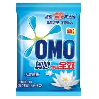 奥妙(OMO)洗衣粉 净蓝全效水清莲香560g