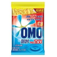 奥妙(OMO)洗衣粉 净蓝全效洁净清新2200g