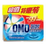 奥妙(OMO)99超效洗衣皂超值特惠装226gX3(新老包装随机发货)