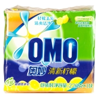 奧妙 清新檸檬超效洗衣皂226g*3