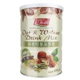 台湾红布朗核桃坚果燕麦奶,400g