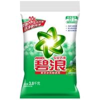 碧浪专业去渍自然清新型无磷洗衣粉3.8kg/袋 无磷 去渍 含馨香因子