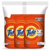 汰漬全效360度潔雅百合香型洗衣液500g*3/袋 柔順 護色 去漬 含凈漂因子