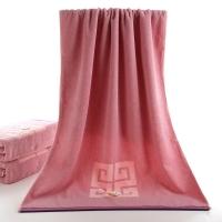 金號 毛巾家紡 舒特曼S3206紫色1條裝純棉浴巾