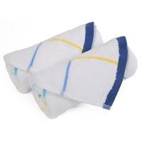 金号毛巾家纺2条装纯棉柔软吸水面巾G1783