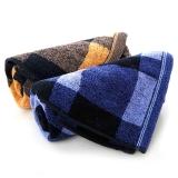 金号 毛巾家纺 提缎毛巾G1361两条装