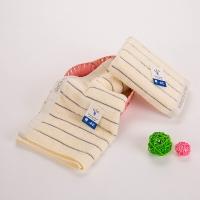 金号毛巾家纺纯棉面巾G1809棕色2条装