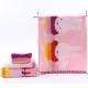 金号 床品家纺 米菲兔正品1046毛方浴套装粉色套装