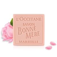 欧舒丹(L'OCCITANE)玫瑰妈妈香皂100g(清洁沐浴皂 去角质嫩肤 身体皂)