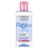 欧莱雅 LOREAL 三合一卸妆洁颜水 倍润型 250ml(欧莱雅女士 魔术水 卸妆水 洁面 保湿)