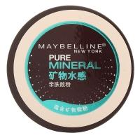 美寶蓮(MAYBELLINE)精純礦物水感親膚散粉 5.5g (定妝 控油 遮瑕)