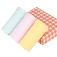 红豆(Hodo)女童内裤A类标准3条盒装短裤K728粉黄绿140/70