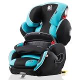 Kiddy/奇蒂 儿童安全座椅 德国品牌 汽车用宝宝坐椅 isofix硬接口 守护者2代fix(9个月-12岁) 天空蓝