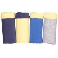 红豆(Hodo)男童内裤中大童儿童4条装短裤HD6K711组合二120/60