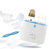 小白熊 双奶瓶恒温暖奶器 智能温奶消毒器 HL-0859