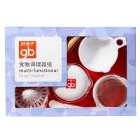 gb好孩子婴儿食物料理器组 七件套 J80037