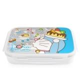 哆啦A梦(Doraemon)(韩国进口)儿童不锈钢分格餐具餐盘 学生保鲜饭盒